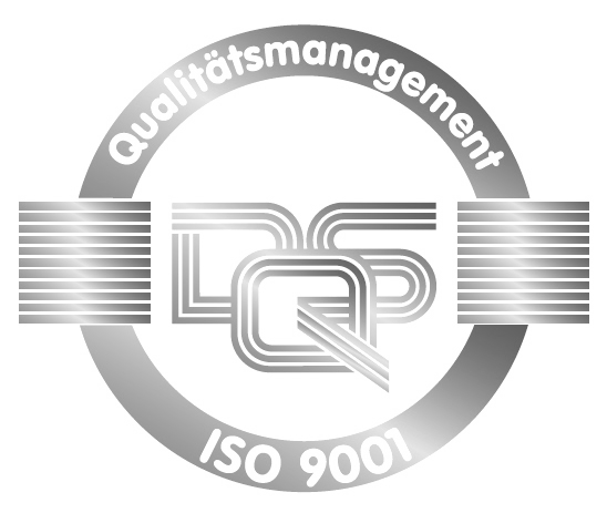Certified according to DIN EN ISO 9001:2015
