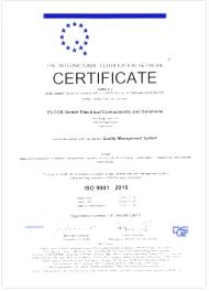 DQS IQNet certificate 2015